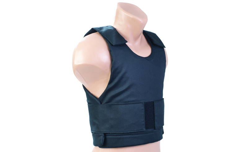 Bulletproof vest isolated.