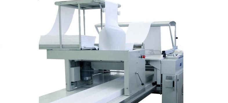 macchinario per stesura tessuti